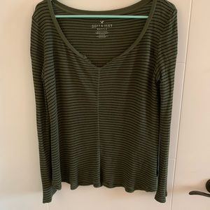 AE Soft & Sexy Thermal Waffle long sleeve